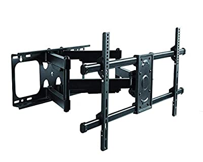 Premium Mount - Heavy Duty Dual Arm Articulating TV Wall Mount Bracket for LG Electronics OLED55B8PUA 55-Inch 4K Ultra HD Smart OLED TV (2018 Model) Tilt & Swivel with Reduced Glare - Buy Smart!