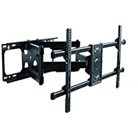 Premium Mount - Heavy Duty Dual Arm Articulating TV Wall...