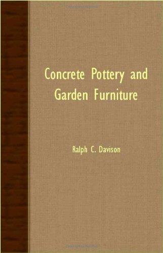 Concrete Pottery and Garden Furniture pdf