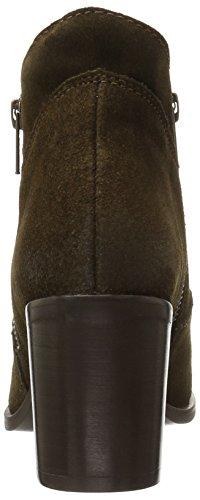 Steve Pierce Suede Women's Madden Bootie Ankle Olive Sg787U6vWq