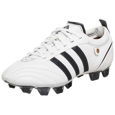 adidas Women's adiPURE TRX FG Soccer Cleat,White/Navy/Navy,5 M
