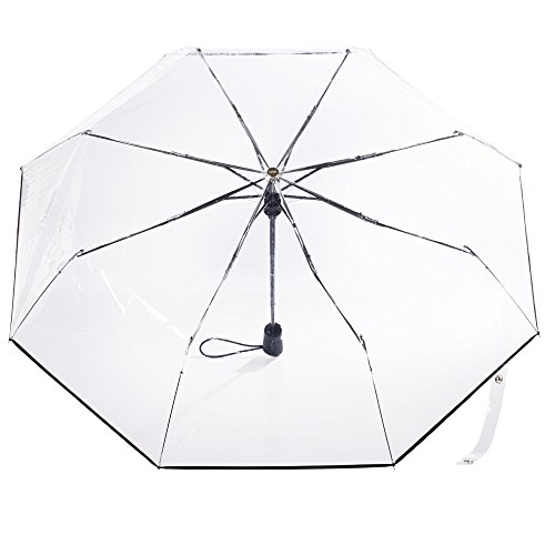 totes Clear Canopy Automatic Open Foldable Umbrella by totes (Image #1)