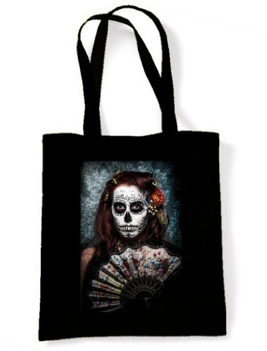 Dead Skull Girl Day The Sugar Tote Shoulder Bag Of wCqEXX4B