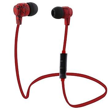 BLUEHUAF Auriculares Bluetooth Inalámbricos Sport Running Auriculares Estéreo Super Bass Auriculares Auriculares Manos Libres con Micrófono, ...