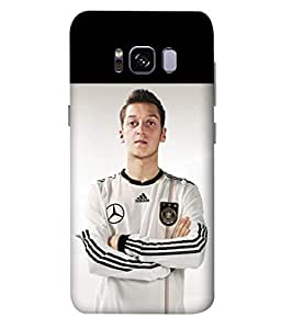 ColorKing Football Ozil Germany 04 Multi Color shell case cover for Samsung S8