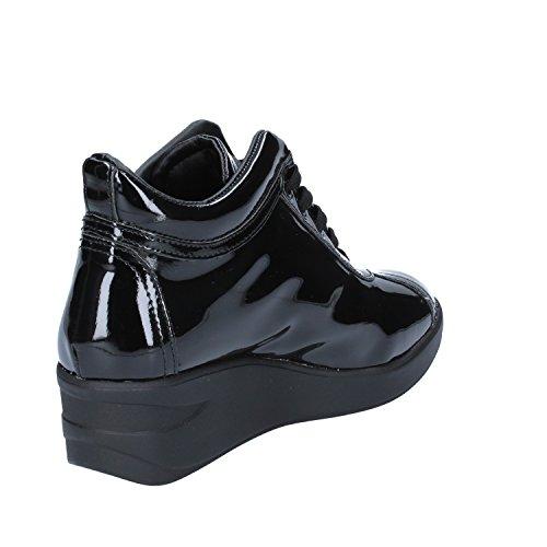 Negro Para Zapatillas ALBANO Negro Charol Mujer de TYO6vqw0
