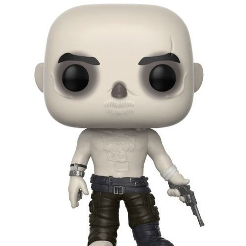 Funko Pop!-28028 Mad MAX Fury Road Nux Shirtless Figura de Vinilo, Multicolor, Stan