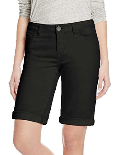 - Buffalo Ladies' Bermuda Short. Color Black. Size: 8/29