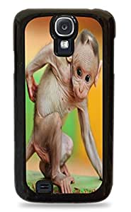 Baby Monkey Black Silicone Protective Case Cover for Samsung Galaxy S4
