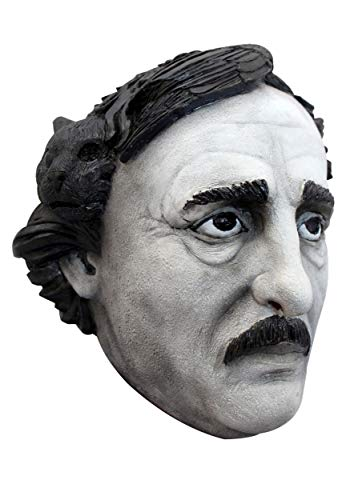 Ghoulish Productions Edgar Allan Poe Mask -