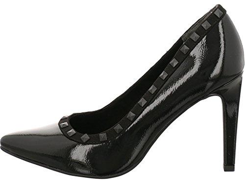 Marco Tozzi 22449, Zapatos de Tacón para Mujer Negro (Black Pat.comb)