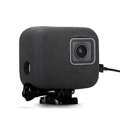 //6//5 Black SUREWO Aluminum Protective Case,Skeleton Housing Case Compatible with GoPro New Hero 7// 2018