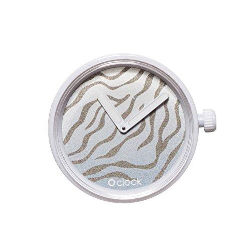 O Clock - Caja reloj modelo safari con mecanismo invernal de tigre