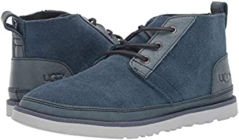 3bcd18032e0 UGG Men's Neumel Unlined Leather Chukka Boot, Pacific Blue, 11 ...