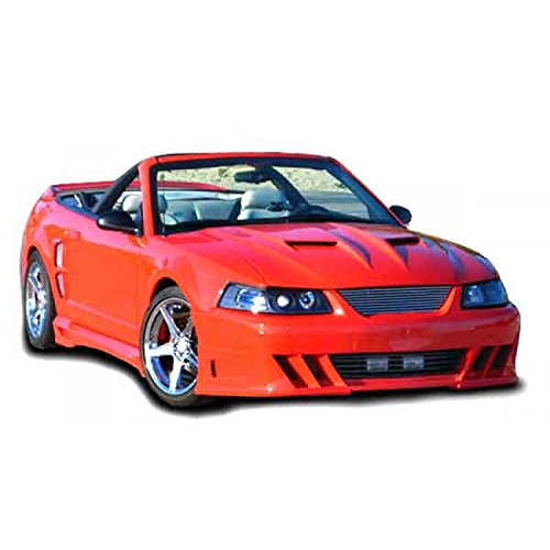 Demon Style Body Kit - KBD Body Kits Compatible with Ford Mustang 1999-2004 Demon Style 1 Piece Flexfit Polyurethane Front Bumper. Extremely Durable, Easy Installation, Guaranteed Fitment, Made in the USA!