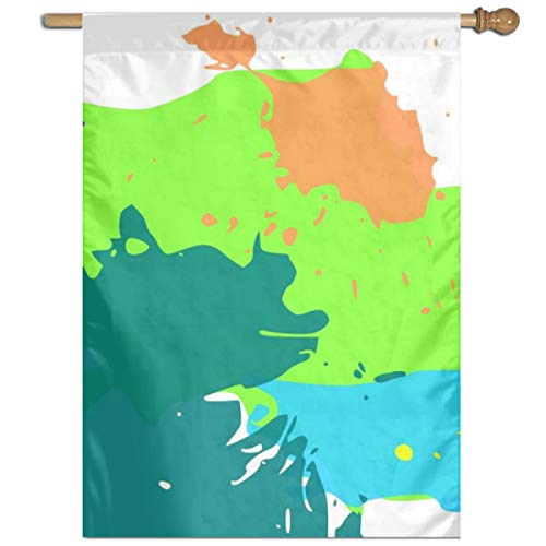 YUANSHAN Single Print Home Garden Flag Color Inkjet Printing Polyester Indoor/Outdoor Wall Banners Decorative Flag 27