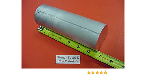 """2 Pieces 1/"""" ALUMINUM 6061 ROUND ROD 24/"""" long T6511 1.00/"""" Solid Bar Lathe Stock"""