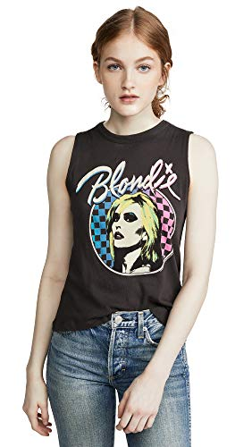 Women's Blondie Debbie Harry Muscle Tank Top, Large