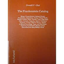 The Frankenstein Catalog by Donald F. Glut (1984-01-30)