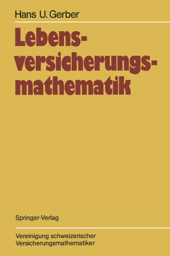 Lebensversicherungsmathematik (German Edition)