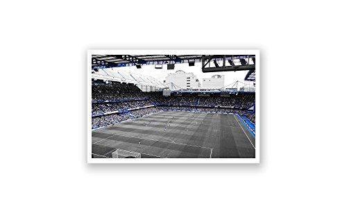 (ArtsyCanvas Chelsea - Stamford Bridge (18x10 Poster) )