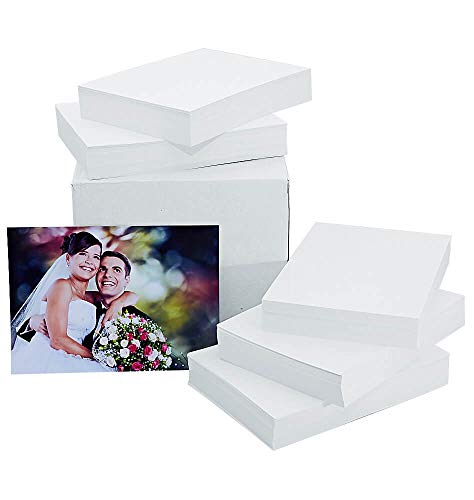 - Glossy Photo Paper 4x6, 500 Sheets (Economy Pack), 9.5mil, 230gsm, for Home and Professional Projects
