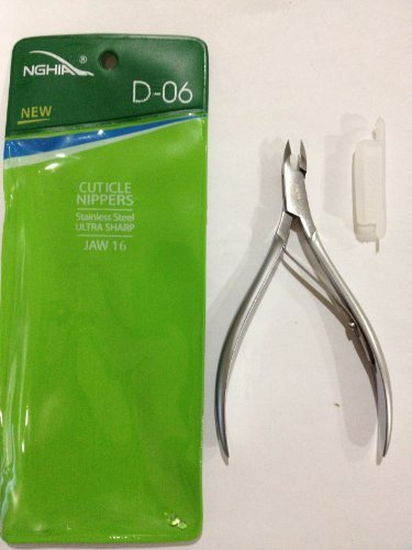 Nghia cuticle nippers D-06 jaw16 by NNC