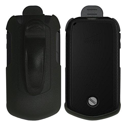 Cbus Wireless Black Holster Case w/Ratcheting Belt Clip Kyocera DuraXV Plus/Dura XV+