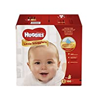 HUGGIES Little Snugglers Baby Diapers, Size 2, 186 Count (Packaging May Vary)...