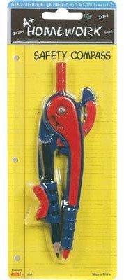 Safety Compass W/Pencil 48 pcs sku# 1187344MA by DDI (Image #1)