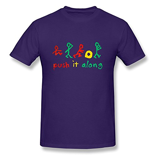 Jade Men's Tee - Classic A Tribe Called Quest Hip Hop Music Band Purple Size XXL