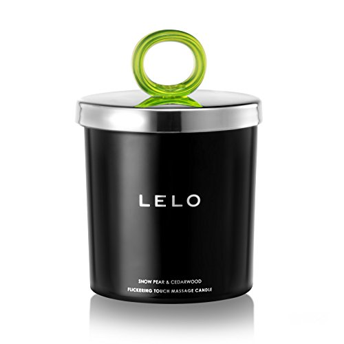 Find Cheap LELO Flickering Touch Massage Candle, Snow Pear/Cedarwood, 5.3 Ounces