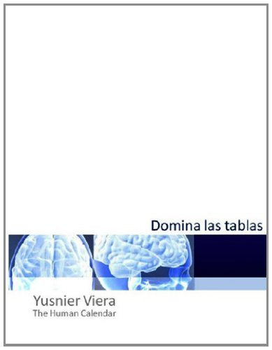 Domina las Tablas (Spanish Edition) [Paperback] [2012] (Author) Yusnier Viera (Shopping Viera)