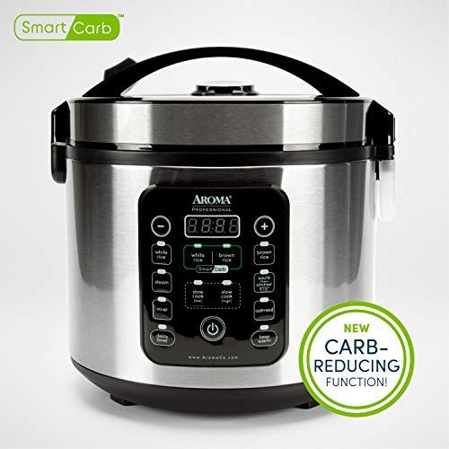 Aroma Housewares ARC-1120SBL Smart Carb