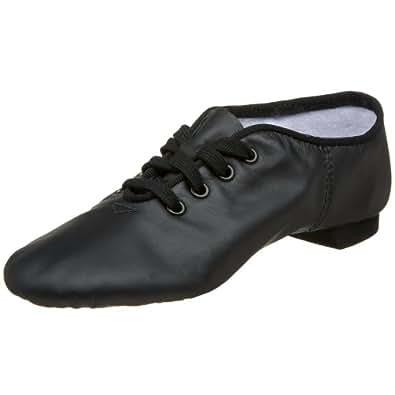 Capezio Women's CG02 Split-Sole Jazz Shoe,Black,3 M US