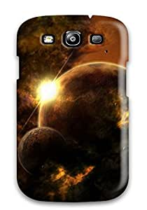 Hot Premium Protection Space Art Case Cover For Galaxy S3- Retail Packaging