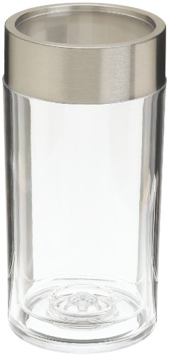 Prodyne A-901 Thick Acrylic and Stainless Steel Iceless Wine Cooler