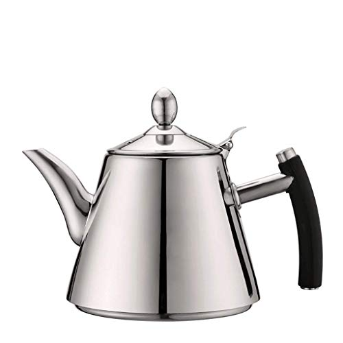 Coffee Pot Boiled 304 Stainless Steel Kettle Induction Cooker Electric Kettle Kettle Brewing Teapot Thickening Flat Pot