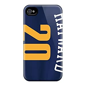 Iphone 4/4s Uoz3662cIJY Allow Personal Design Trendy Utah Jazz Pattern Shock Absorption Cell-phone Hard Covers -JasonPelletier
