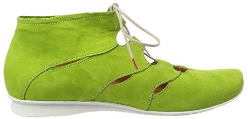 Denken! Dames Chilli_282114 Desert Boots Groen (kikker / Kombi 62)
