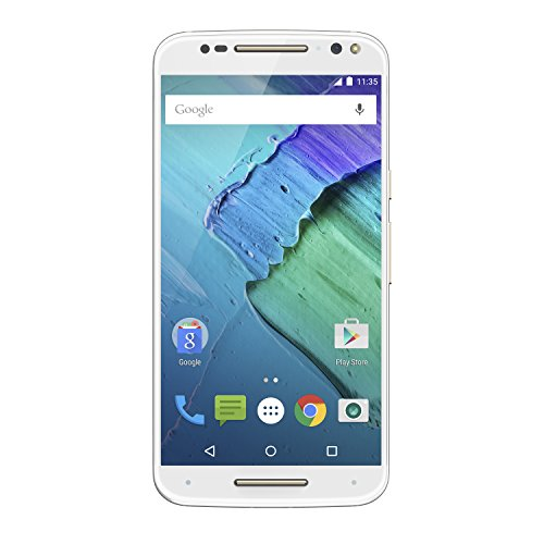 Moto X Pure Edition Unlocked Smartphone, 32GB White (U.S. Warranty - XT1575)