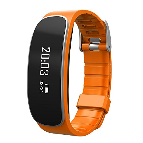 (TechComm Y29 Fitness Tracker Band With Heart Rate Monitor Call and Text)