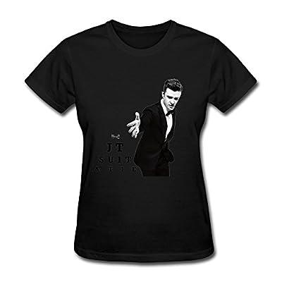 SUAMDAN Women's Jt Justin Timberlake T Shirt