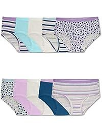 Girls' Cotton Brief Underwear