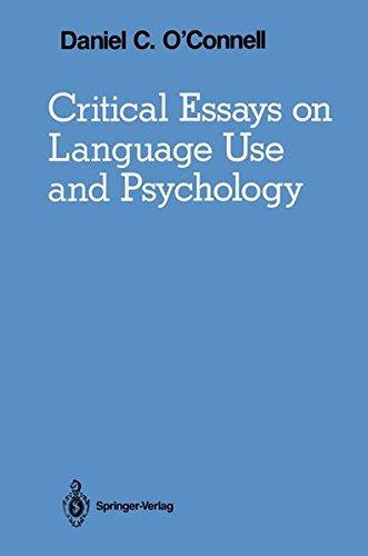 Critical Essays on Language Use and Psychology