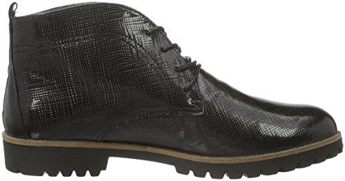 Comfortabel 961589, Zapatos de Cordones Derby Para Mujer Negro