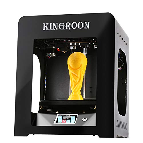 Entry Level 3D Printer High Precision Industrial Tools HD Touch Color Screen Power Off Carry on Print Suitable for Building DIY Art Industry and Other Fields