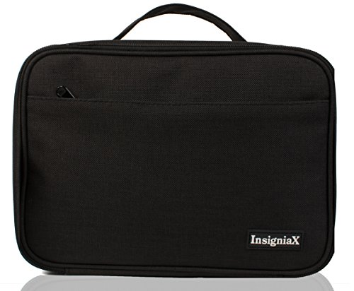 Insigniax Kids Lunch Bag S1 Cool Back To School Lunch Box Cooler For Adult Women Men Work Kids Girls Boys  Fit For Adult Use Size H  10  X W  3 8  X L  7   Large  Black