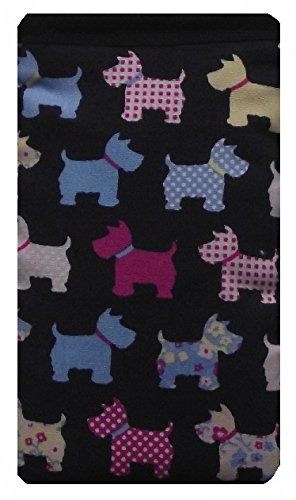 Cute Navy Blue Dogs Print Apple iPhone SE sock / Case / Cover / Pouch