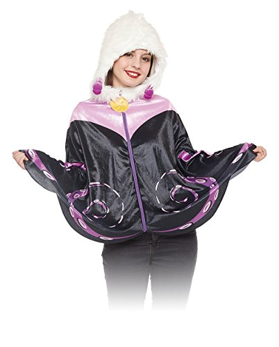 Disney's Little Mermaid Costume - Ursula Hooded Cape Only]()